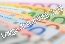 LEGGE STABILITA' – Iniziato percorso riduzione tasse. Ma serve più coraggio su spending review