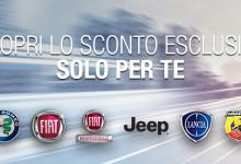 Convenzione con Fiat Chrysler Automobiles FCA