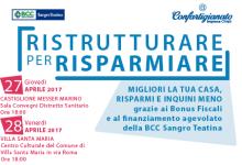"""ROAD SHOW """"RISTRUTTURARE PER RISPARMIARE"""" – Prossime tappe: Castiglione Messer Marino e Villa Santa Maria"""