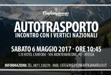 Autotrasporto: dibattito con i vertici nazionali su situazione vertenza Governo ed opportunità per la categoria