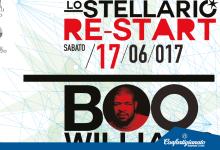 LO STELLARIO RE-START: SABATO 17 GIUGNO 2017 CON BOO WILLIAMS