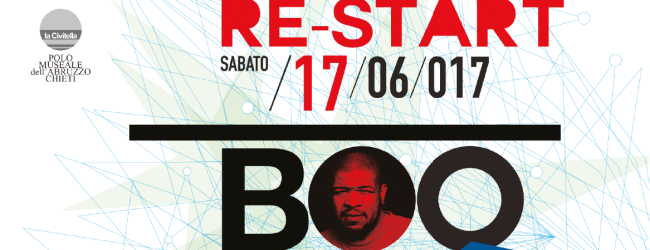 LO STELLARIO RE-START: SABATO 17 GIUGNO 2017 CON BOO WILLIAMS