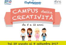 Campus della Creatività: dal 28 agosto all'8 settembre torna con nuove attività!