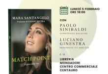 A Chieti presentazione del libro 'Match point' e incontro con l'autrice Mara Santangelo