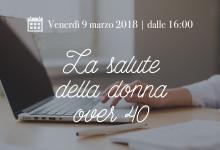 Venerdì a Chieti l'evento 'La salute della donna over 40′. Esame Moc gratuito