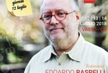 Festival della ventricina del Vastese, Edoardo Raspelli testimonial 2018