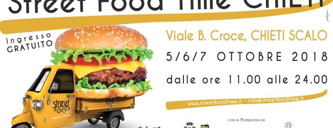 Torna 'Street Food Time', dal 5 al 7 ottobre a Chieti la quarta edizione del festival