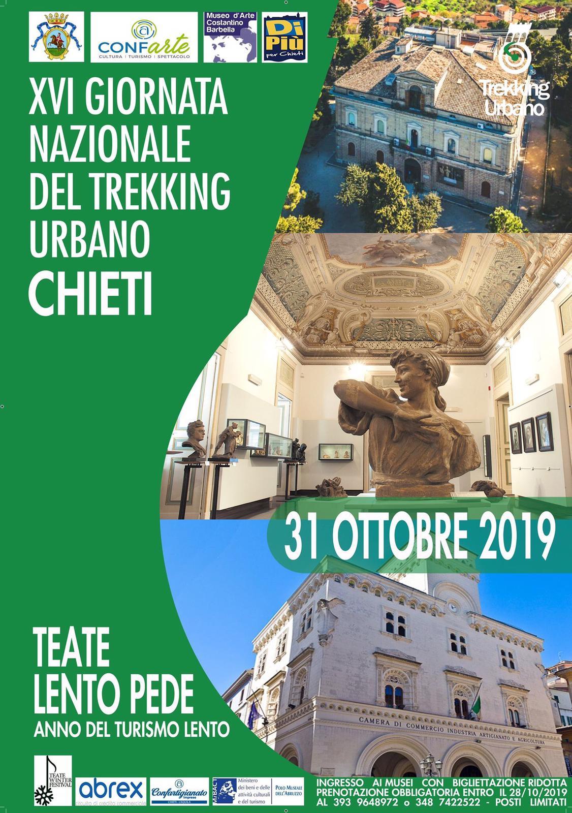 Chieti tra i 48 itinerari della 'Giornata nazionale del trekking urbano'