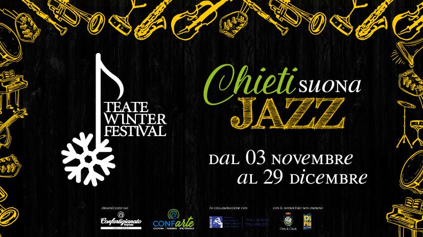 """Torna """"Teate Winter Festival"""", musica e arte protagonisti a Chieti fino al 29 dicembre"""